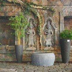 Imitacja Świątynii Angkor Wat z Kambodży, showroom Praga